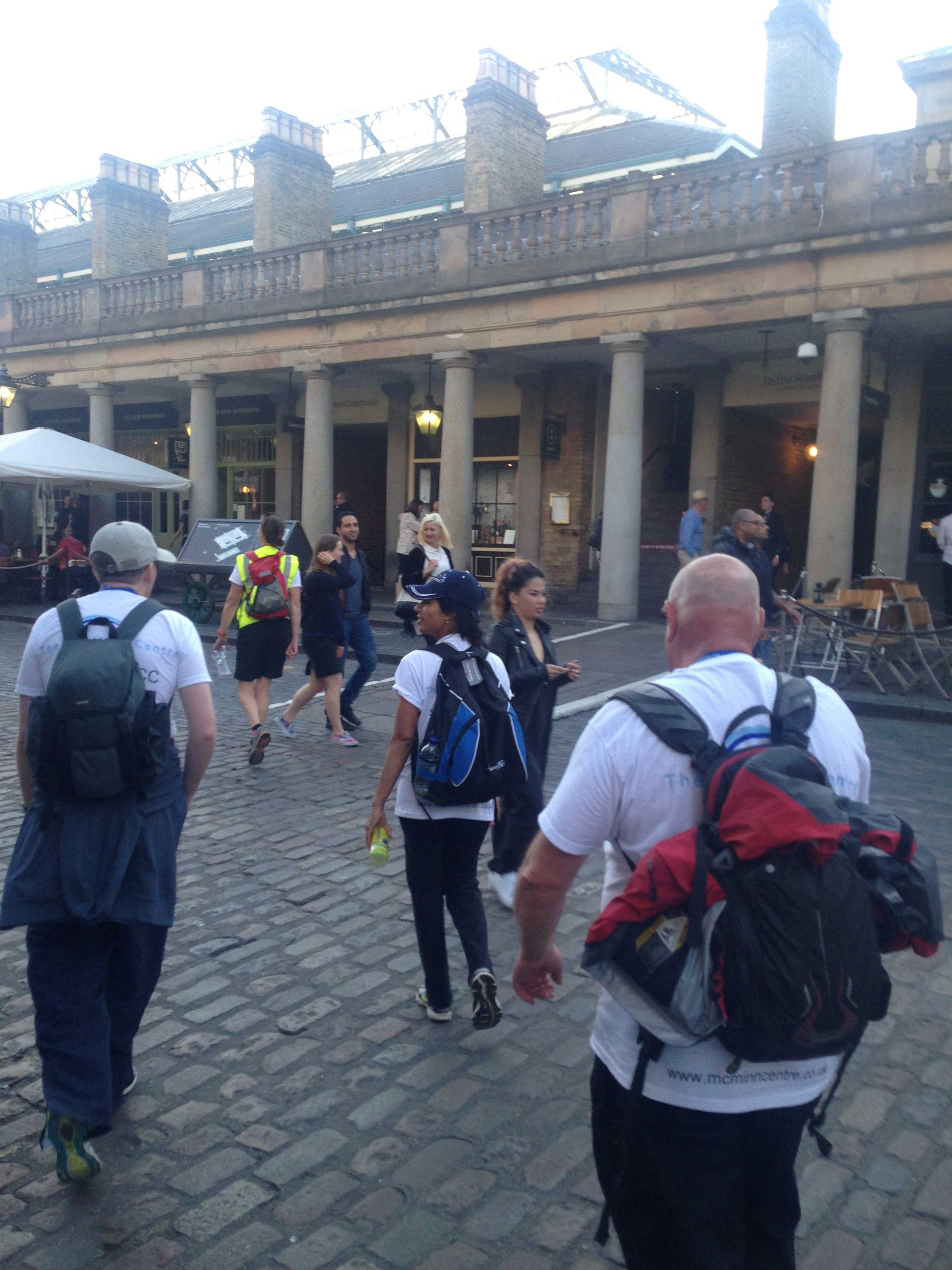 Arriving at Covent Garden