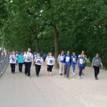 Lots of DCC walkers on The Mall