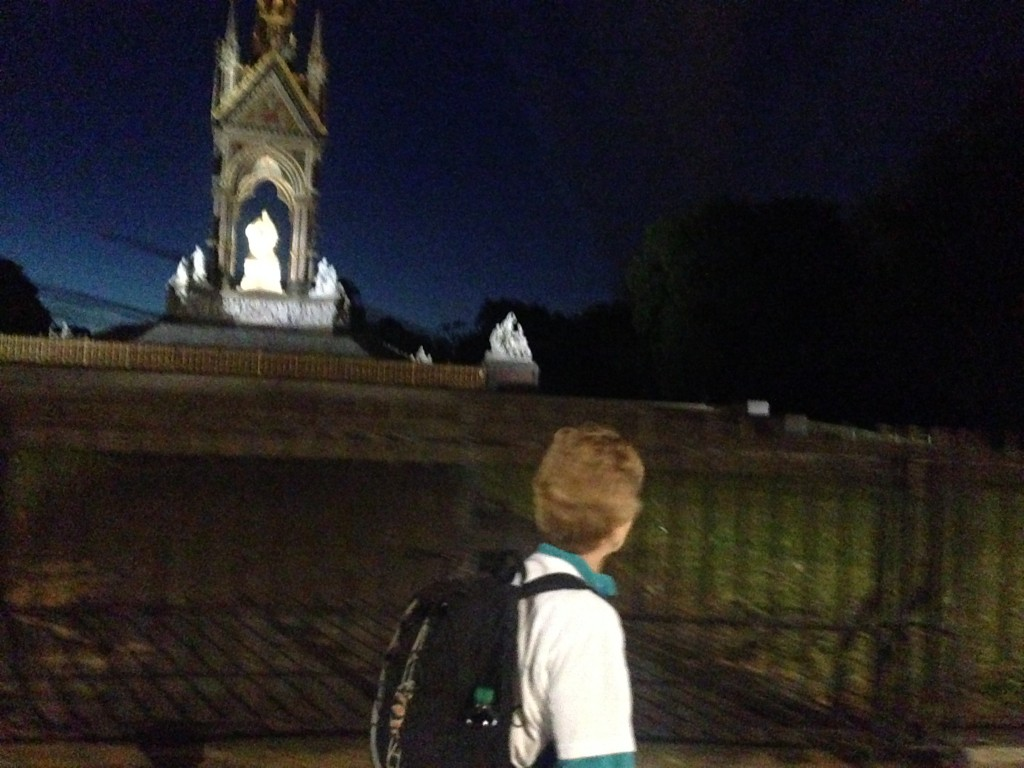 The Albert Memorial in Hyde Park