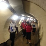 Inside the Greenwich Foot Tunnel