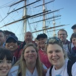 Selfie at The Cutty Sark!