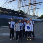 The McMinn Centre Team at the Cutty Sark
