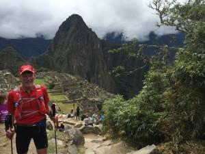 Peter Bell at Machu Picchu