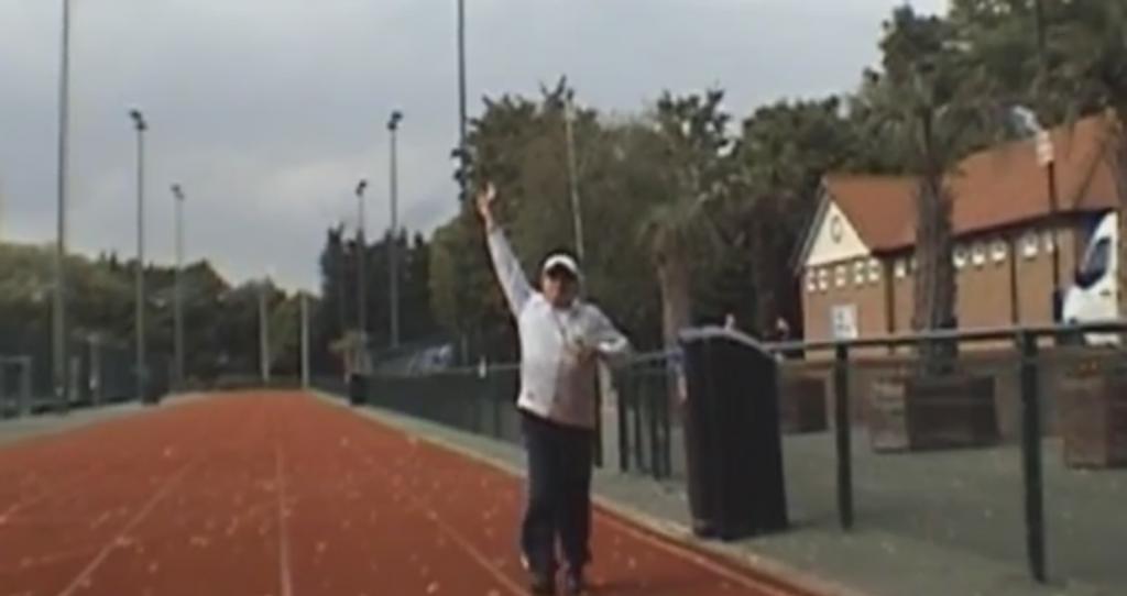 Stuart Sharp Running Track