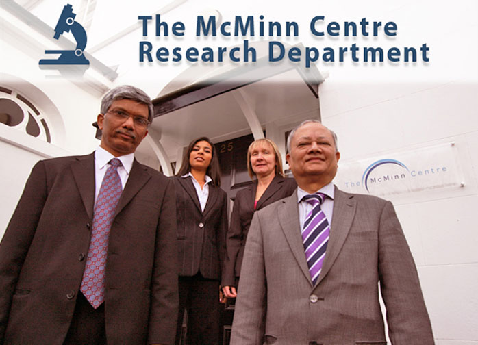 The McMinn Centre Research Department