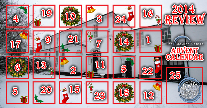 The McMinn Centre Advent Calendar 2014 Review