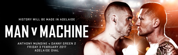 Mundine v Green at Adelaide Oval