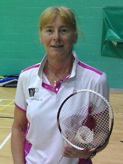 Sian Williams Hip Resurfacing Badminton Champion